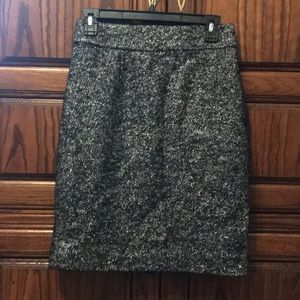 J Crew Metallic Skirt